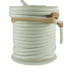 Vintage Cloth Wire White 20AWG stranded per meter