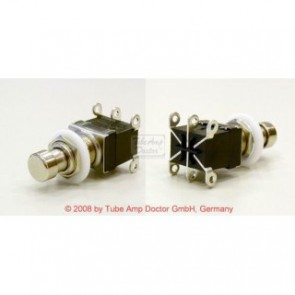 DPDT Momentary push switch, metal