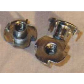 T-Nuts M6 Nickel, 4 pcs