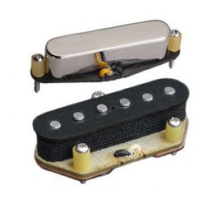Tonerider Alnico II Blues for Telecaster Set - Nickel Cover