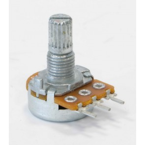 Vox® Potentiometer, C2M2 reversed LOG, PC Mount, Split Shaft