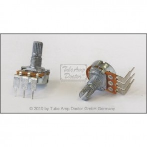 Vox® Potentiometer, C2.2M reversed log, PC Mount,