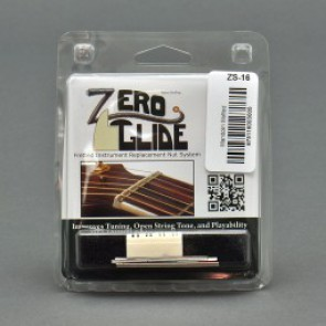 Zero Glide Nut System, for mandolin slotted, flat, 24.5mm
