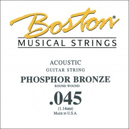 Boston .045 snaar, phosphor bronze