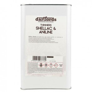 Dartfords Thinners Shellac And Aniline - 5 litre jerrycan
