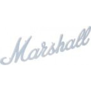 "Marshall logo 9"" white"