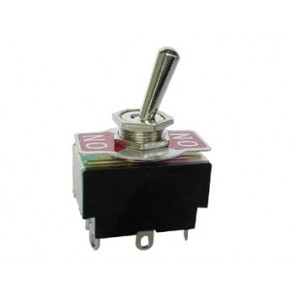 Amp Switch DPDT - 3 postion toggle ON-OFF-ON