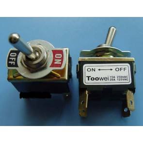 Amp Switch DPST, ON-OFF, 4pins