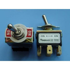 Amp Switch DPDT - 2 postion toggle ON-ON 6 pins