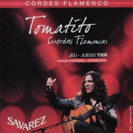 Savarez snarenset Tomatito handtekening, flamenco, normal tension