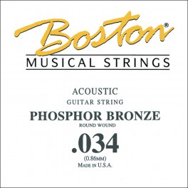 Boston .034 snaar, phosphor bronze