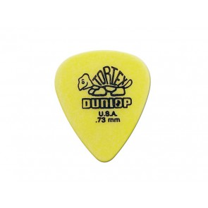 Dunlop Tortex Standard 0.73 mm. plectrums, geel, 12-pack