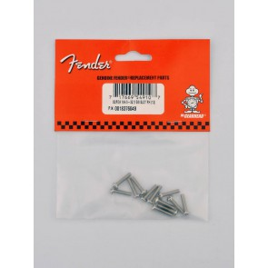 Fender Genuine Replacement Part pickup mounting screws slotted machine vintage '50s Tele 6-32 x 5/8 round head 12 pcs