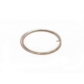 Silver-plated copper wire, 0,8 mm / 5 m