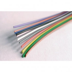 Wire, 1 mm² solid, 5 m, blue