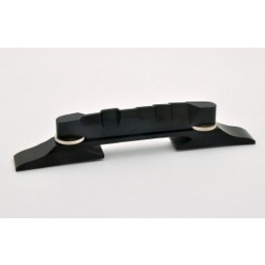 Jazz Guitar Bridge  Ebony